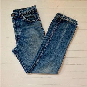 1970s ✨ Vintage Levi's Orange Tab Bootcut Jeans
